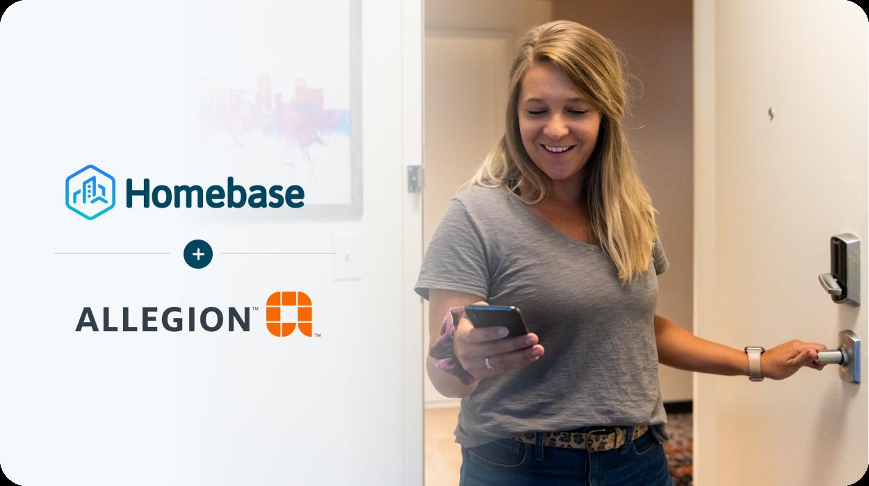 Homebase + Allegion Canada Header Image