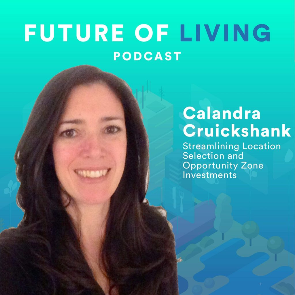 Calandra Cruickshank on the Future of Living Podcast with Blake Miller