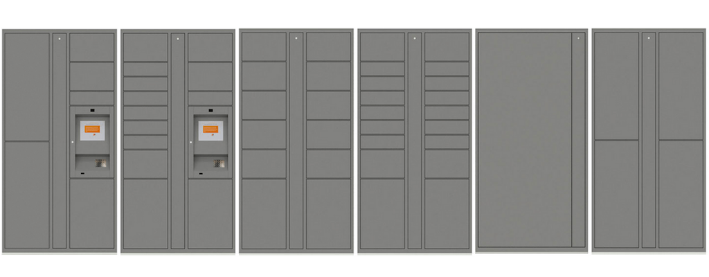 Parcel Pending lockers come in several configurations