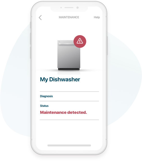 Homebase Maintenance UI - Dishwasher