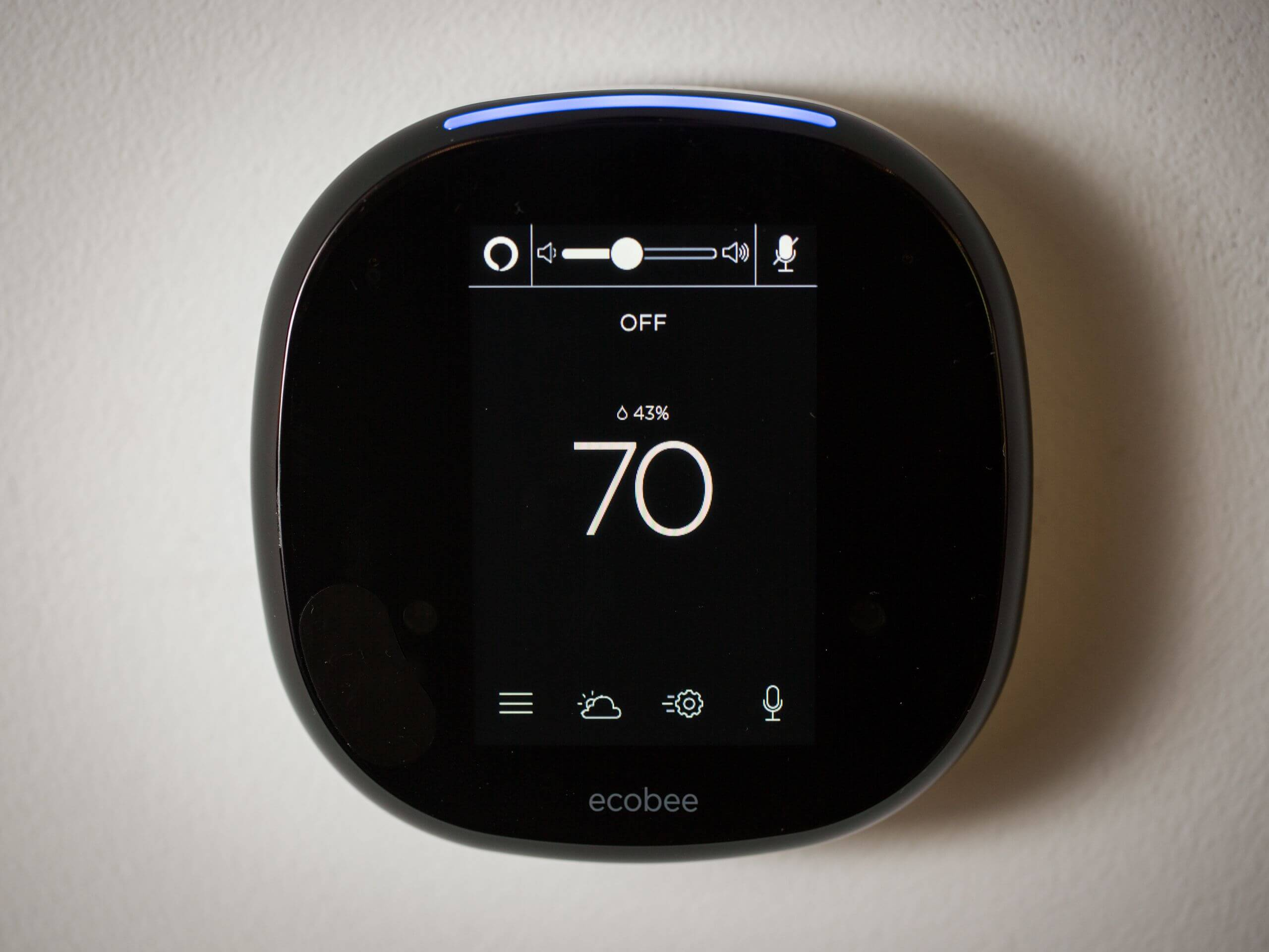The Ecobee4, the newest smart thermostat from Ecobee