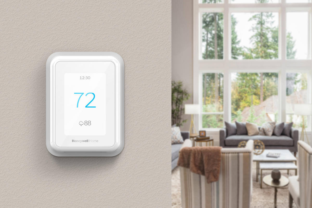 Honeywell T9 Smart Thermostat.