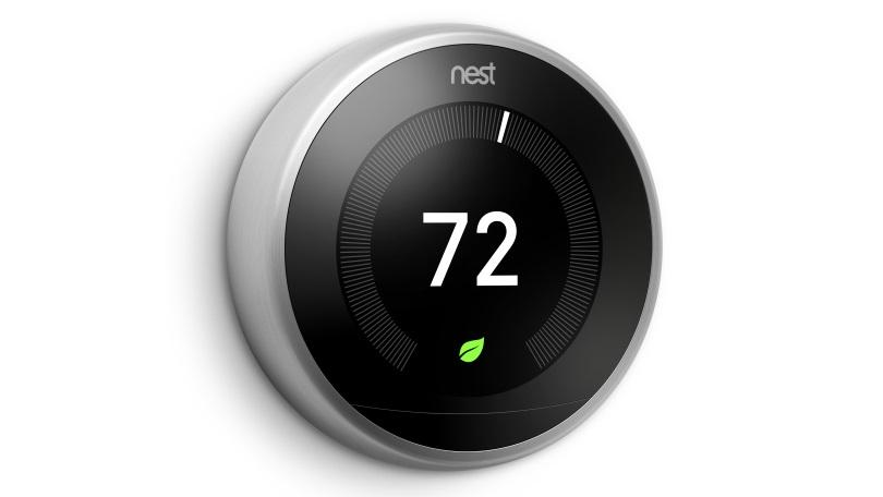 3rd Generation Nest Learning Thermostat.