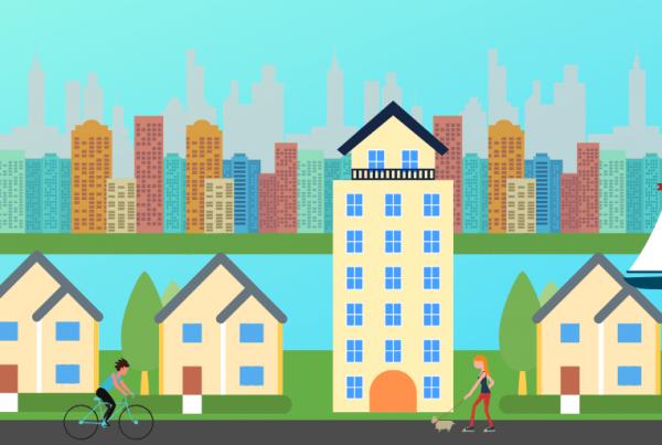 Urban amenities in suburbs